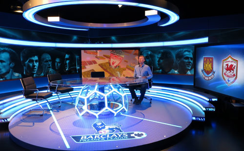 eye-catching design - set design for tv sports
