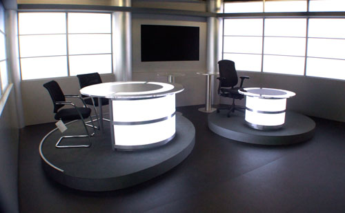 ECD - set design for current affairs and news