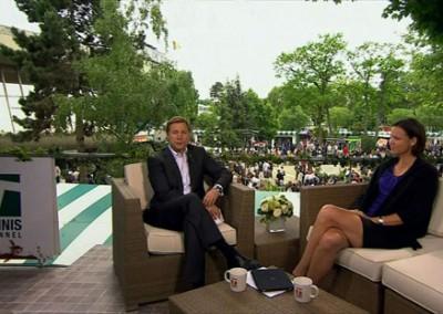 The Tennis Channel – Paris 2011