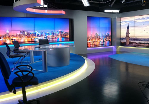 TV Production Set Designers l eye-catching design