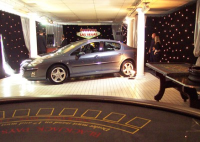 Peugeot Party Launch Casino Set