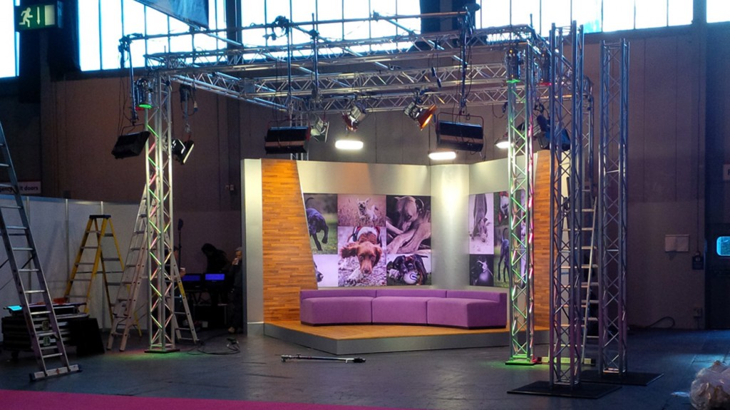 ECD - Production Set Design - Crufts 2015